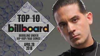 Top 10 • US Bubbling Under Hip-Hop/R&B Songs • April 28, 2018 | Billboard-Charts