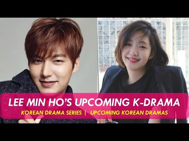 Lee Min Ho S First Project After The Discharge From Military