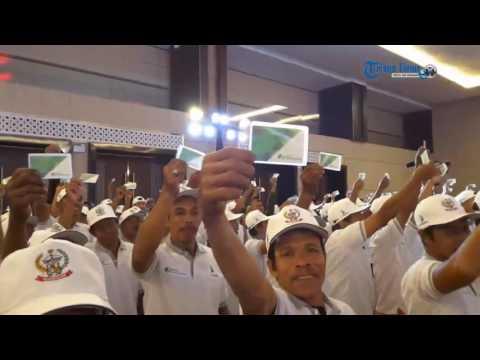7.200 Pekerja Informal Gratis Iuran BPJS Ketenagakerjaan
