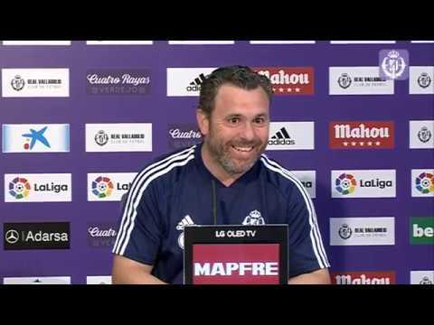Sergio, seguro de que el Real Valladolid arranca 'a punto'