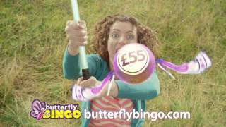Bagging the Butterfly - The New Butterfly Bingo Ad