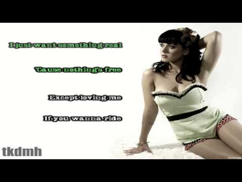 Katy Perry - If You Can Afford Me Karaoke/Instrumental