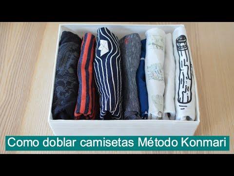 C mo doblar la ropa interior para ahorrar espacio con el - Metodo konmari ropa ...