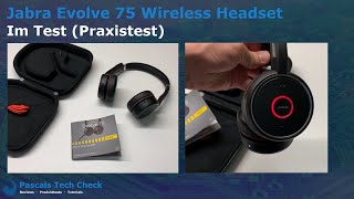 Kabelloses Jabra Evolve 75 Headset ||  Im Test (Praxistest) - Bestes Büro & Home-Office Headset?