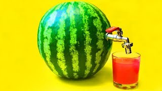 Life Hack ! How to make Watermelon Juice