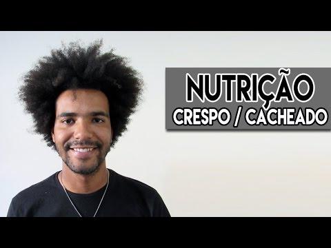 NUTRIÇÃO PARA CABELO CRESPO CACHEADO MASCULINO