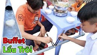 LamTV - Buffet Lẩu Trôi Ống Nước - Lẩu Băng Chuyền Phiên Bản Ống Nước | Hotpot floating by the water