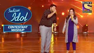 Ashish और Sayali ने दिया एक ज़बरदस्त Duet Performance | Indian Idol | Contestant Mashup