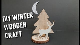 Reindeer Christmas Wood Crafts | Christmas Craft Ideas
