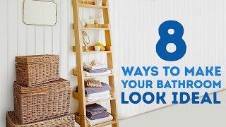 8 Cara Membuat Kamar Mandi Lebih Cantik