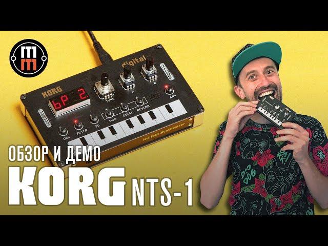 Korg NTS 1 - подробный обзор и демо