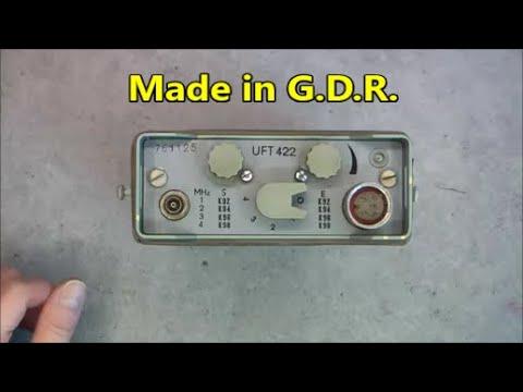 RFT UFT 422 radio teardown