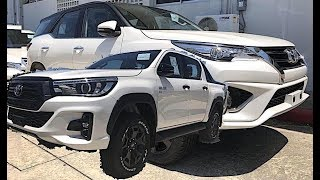 Toyota Fortuner 2018 & Toyota Hilux Rocco 2018, SUV VS Pickup
