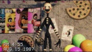 [FNAF] The Puppet footage tape 1987 - Freddy Fazbear's Pizzeria (2)