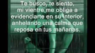 Cuando te beso - Juan Luis Guerra (versión para dedicar - con poema)