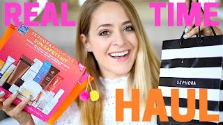 My first ever REALTIME Sephora haul with the girls Hope you like it :