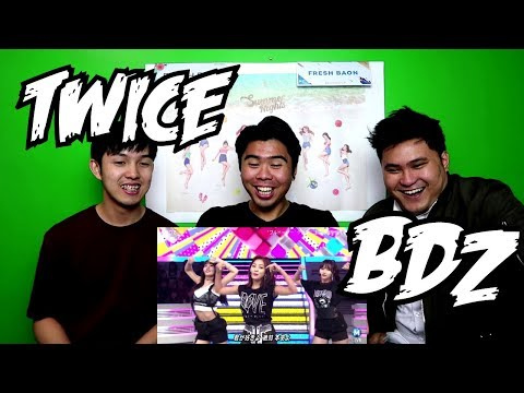 TWICE - BDZ LIVE REACTION (FUNNY FANBOYS)
