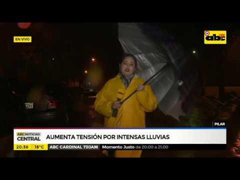 Pilar: Aumenta tensión por intensas lluvias