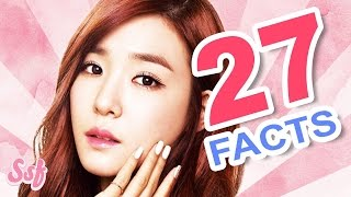 27 All About Tiffany Facts Video - Girls' Generation (SNSD) Video l @Soshified