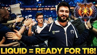 LIQUID IS READY FOR TI8! Miracle, gh, Matumbaman & MinD_ContRoL being TOP-5 RANKS - Dota 2