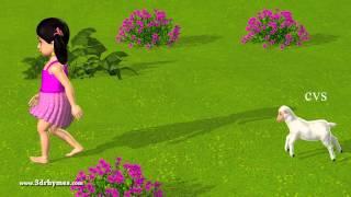 Mary had a Little Lamb - 3D Animation English Nursery rhyme
