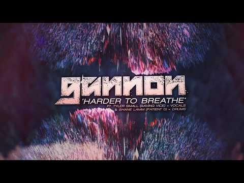 Gannon - Harder to Breathe (ft. Tyler Small & Shane Lamm) online metal music video by GANNON