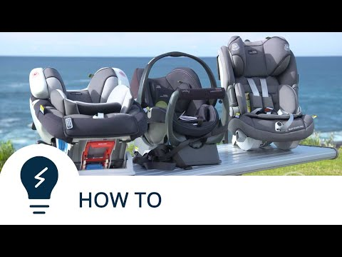 How to correctly install a forward-facing child seat