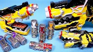 파워레인저 다이노포스 장난감들 Power Rangers Dino Charge Kyoryuger toys