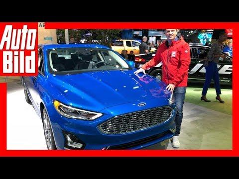 Ford Fusion/Mondeo (2019) Details/Erklärung/Sitzprobe