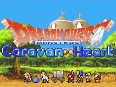 dragon quest monsters caravan heart gba rom download english
