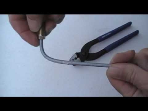 HOW TO USE BUY NEW BRAKE LINE TUBING BENDER BENDING FORMING PLIERS BEND WITHOUT KINKING VIDEO Mp3