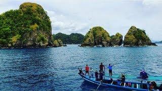 Wow! Pulau Wayang Di Lampung Tak Kalah Keren dengan Pulau Raja Ampat