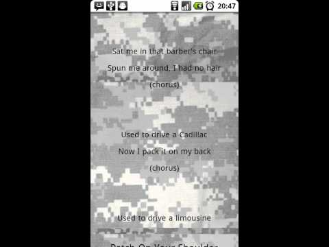 Video of Military Cadences