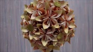 Цветочный топиарий.Денежное дерево.