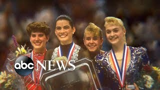 Tonya Harding finishes in fourth place at 1992 Olympics, behind Nancy Kerrigan: Part 4