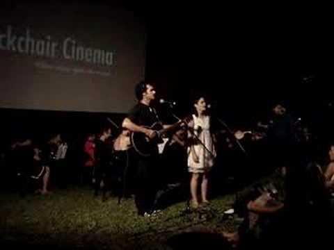 Deckchair cinema opening 2008