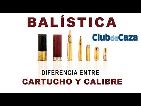 Diferencia entre cartucho y calibre