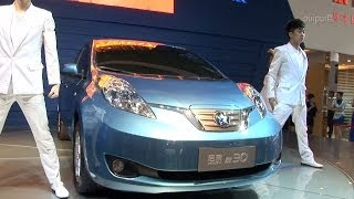 preview picture of video '启辰 晨风 - Venucia e30・・・14th China (Kunming) Pan-Asia International Automobile Exhibition'