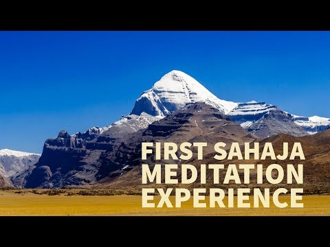 First Sahaja experience