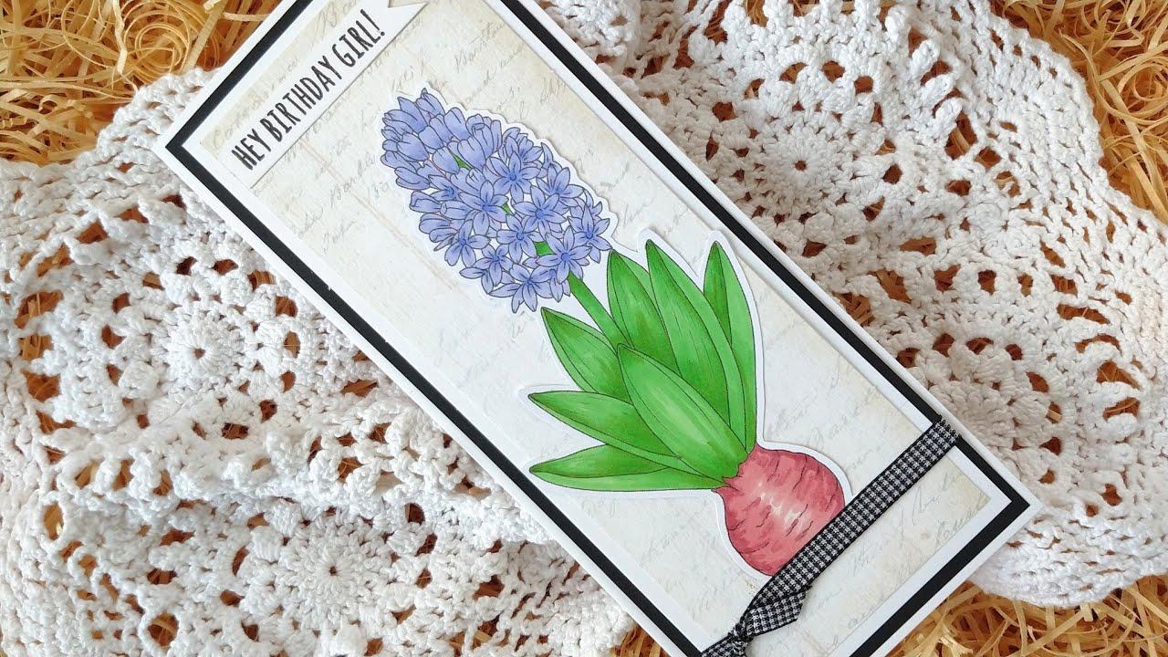 Colouring Hyacinth
