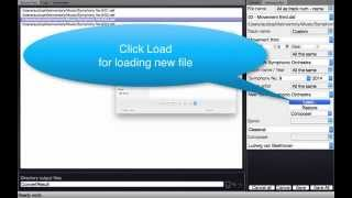 Advanced meta tags editor audio files DSF, FLAC, WAV, AIFF