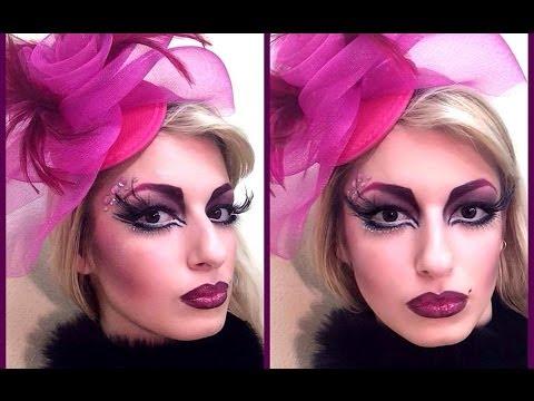 Αποκριάτικο μακιγιάζ: Mrs Pink