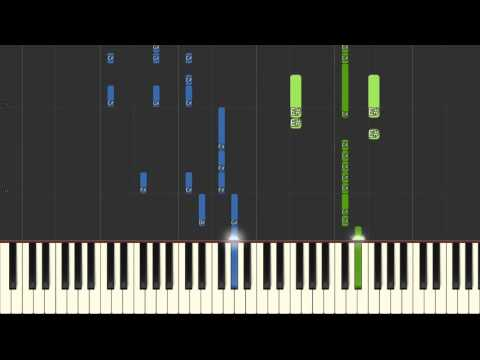 25 Pop Songs Piano Medley 2016 Synthesia (MIDI + Sheet)