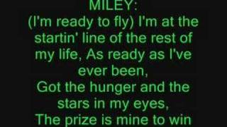 Ready, Set, Don't Go ft. Miley Cyrus Lyrics