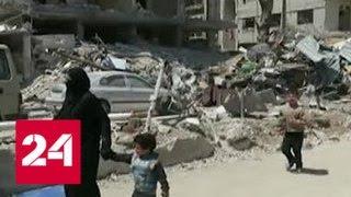 Журналисты из США не нашли в сирийской Думе свидетельств химической атаки - Россия 24
