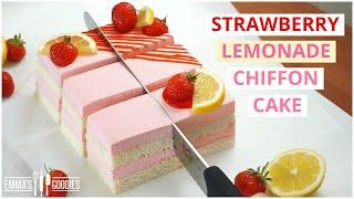 When LIFE gives You lemons make THIS! Strawberry Lemonade Cake!