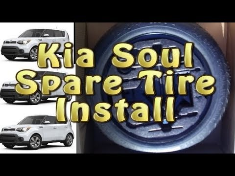 Spare Tire For The Kia Soul