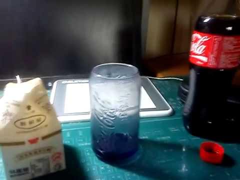 牛奶+可樂!1 25:1的絕妙組合 變成超級好喝的飲料