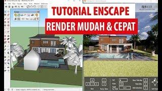 enscape 3d sketchup tutorial - TH-Clip