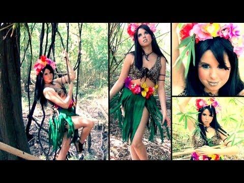 Katy Perry - Roar Music Video Inspired Makeup & DIY Costume!